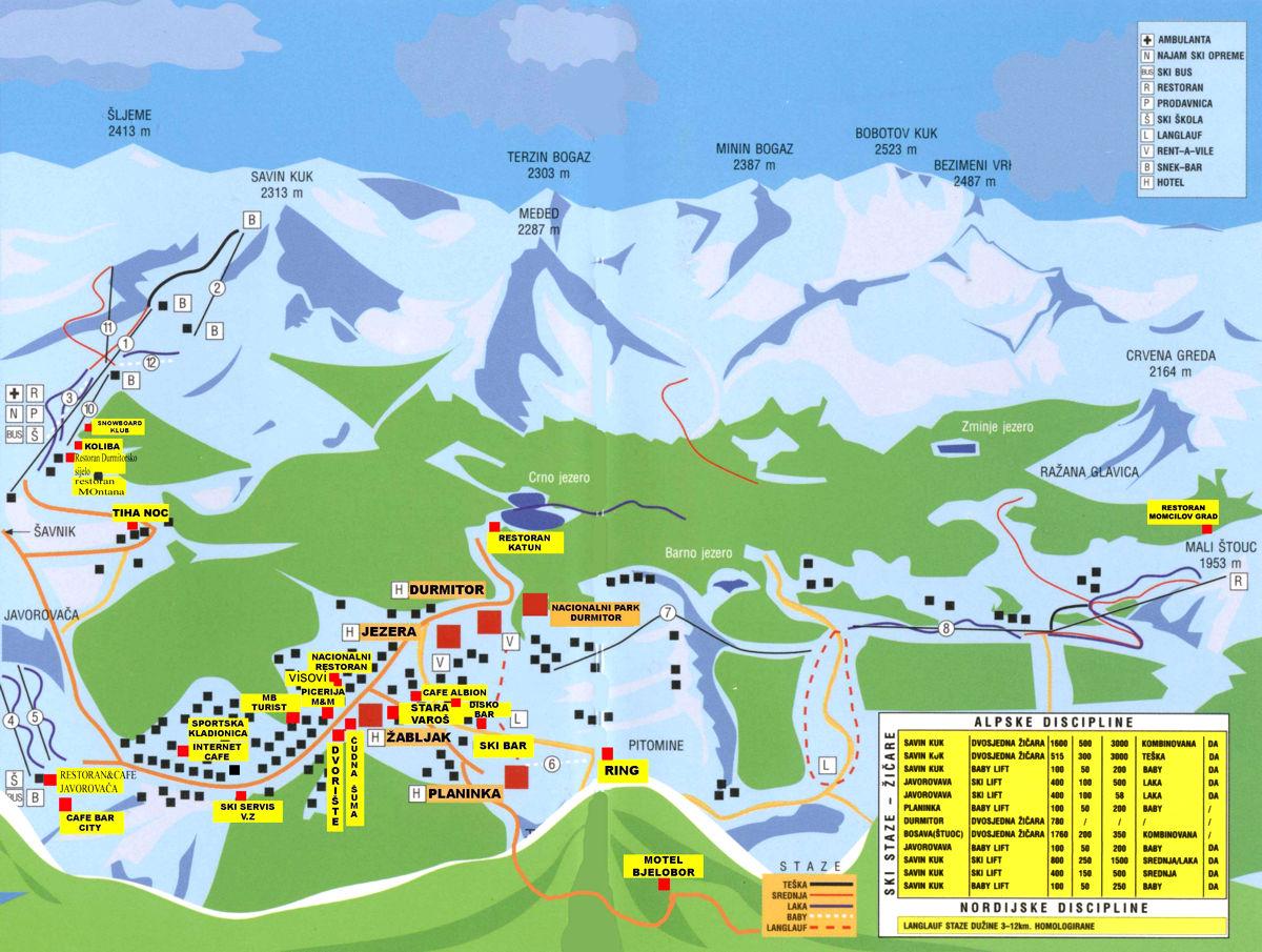 Mapa i plan okoline