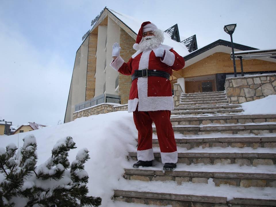 Djeda Mraz stigao na Žabljak